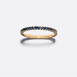 アガット(agete)のベルシオラ ブルーサファイア フルエタニティリング(リング(指輪))