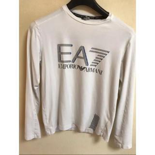 エンポリオアルマーニ(Emporio Armani)の値下げ交渉可 エンポリオアルマーニ Tシャツ 長袖シャツ 白(Tシャツ/カットソー(七分/長袖))