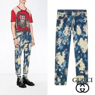 グッチ(Gucci)のGUCCI ブリーチデニム 30(デニム/ジーンズ)