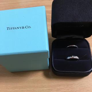 ティファニー(Tiffany & Co.)のティファニー ドッツリング バンドリング セット 9号(リング(指輪))