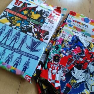 バンダイ(BANDAI)のルパンレンジャー パトレンジャー ボクサーパンツ 半袖シャツ 110サイズ(下着)