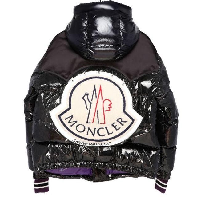 MONCLER(モンクレール)のMONCLER PALM ANGELS TIM 黒 1 定価305640円  メンズのジャケット/アウター(ダウンジャケット)の商品写真