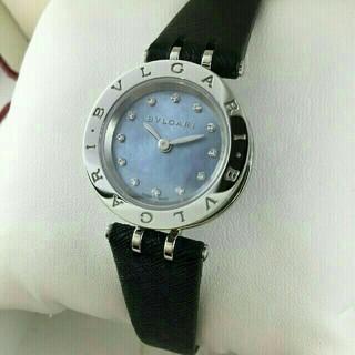 ブルガリ(BVLGARI)のブルガリ B-ZERO1 BZ23S レディース ブルーシェル×12PD文字盤(腕時計)
