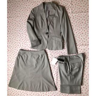 エムエフエディトリアル(m.f.editorial)のm.f.editorial Mサイズ 洗濯機で洗えるレディーススーツ 3点セット(スーツ)