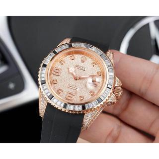 ROLEX - ロレックス デイトジャスト 腕時計 ラバーベルト