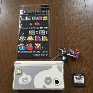 ニンテンドウ(任天堂)の任天堂DSi/ドラクエ9/ドラクエ風シール(携帯用ゲーム本体)