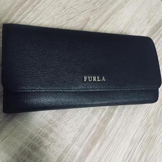 フルラ(Furla)の【美品】フルラ  財布   長財布  /  黒(長財布)