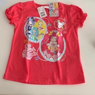 バンダイ(BANDAI)のプリキュア/スタートゥインクルプリキュア半袖Tシャツ110サイズ/ローズピンク色(Tシャツ/カットソー)