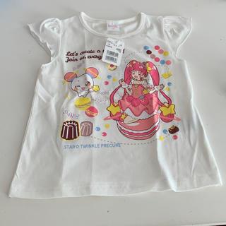 バンダイ(BANDAI)のプリキュア/スタートゥインクル/肩フリルTシャツ/100サイズ(Tシャツ/カットソー)