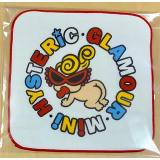 ヒステリックミニ(HYSTERIC MINI)のヒスミニ☆正規品☆新品☆ハンドタオル☆赤☆手拭き(タオル/バス用品)