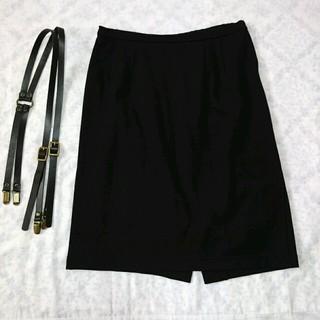 ニーナミュウ(Nina mew)の★値下げ★ニーナミュウ スカート 黒(ひざ丈スカート)