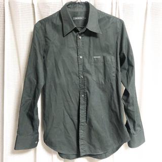 カルバンクライン(Calvin Klein)のCK カルバンクライン 黒シャツ(シャツ)