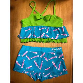 ラグマート(RAG MART)のラグマート 水着セパレート 130女の子 美品(水着)