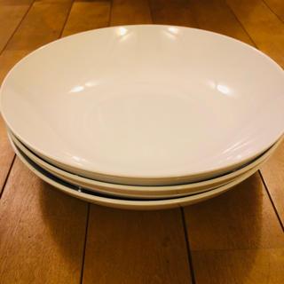 イケア(IKEA)の☆IKEA 食器 深皿 3枚 セット(食器)