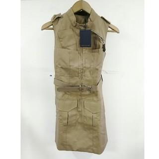 ルイヴィトン(LOUIS VUITTON)のLouis Vuittonルイ・ヴィトン ワンピース 袖無し ドレス (ひざ丈ワンピース)