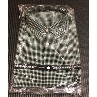 UNIQLO - メンズ ワイシャツ 長袖 スリムフィット UNIQLO XL