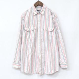 シュガーケーン(Sugar Cane)のSUGAR CANE シュガーケーン ワークシャツ ストライプシャツ(シャツ)