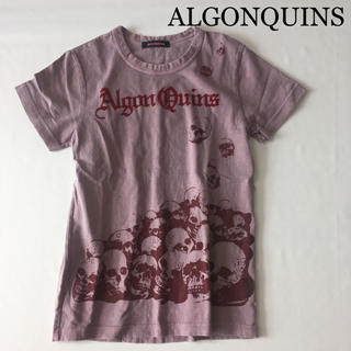 アルゴンキン(ALGONQUINS)のアルゴンキン Tシャツ スカル ALGONQUINS(Tシャツ(半袖/袖なし))