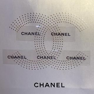 シャネル(CHANEL)のCHANEL クリア ステッカー 5枚(シール)
