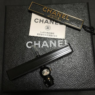 シャネル(CHANEL)のシャネルイヤホンジャックマトリョーシカ未使用正規品(ストラップ/イヤホンジャック)