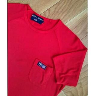ラルフローレン(Ralph Lauren)のラルフローレン//  赤のTシャツ(Tシャツ(半袖/袖なし))