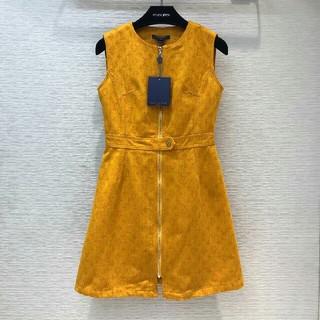 ルイヴィトン(LOUIS VUITTON)のLouis Vuittonルイヴィトンワンピース ドレス S(ひざ丈ワンピース)