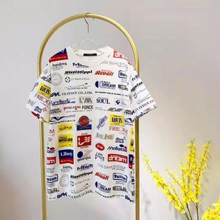 ルイヴィトン(LOUIS VUITTON)の19SS★Louis Vuitton★オールオーバー ロゴ Tシャツ S(Tシャツ(半袖/袖なし))