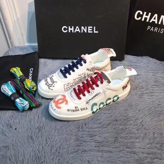 シャネル(CHANEL)のCHANEL人気のカジュアルシューズメンズサイズ26.5cm(スニーカー)