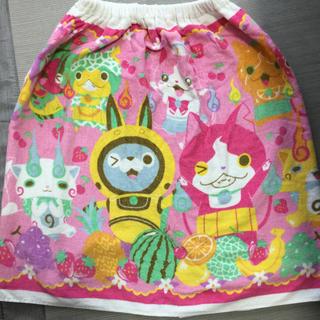 バンダイ(BANDAI)のラップタオル 妖怪ウォッチ 女児(タオル/バス用品)