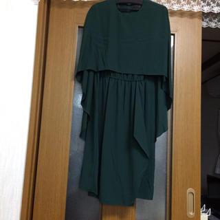 スコットクラブ(SCOT CLUB)のAgaアーガ(ヤマダヤ) ワンピース パーティドレス タグ付き未使用品(ミディアムドレス)