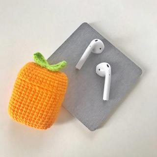 アップル(Apple)の★即日発送★オリジナルハンドメイドニットairpodsエアーポッズケースカバー4(モバイルケース/カバー)