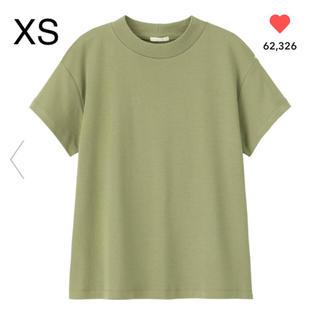 ジーユー(GU)のGU スムースT オリーブ XS(Tシャツ(半袖/袖なし))