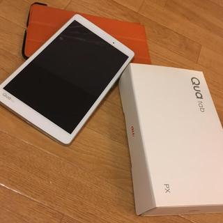 エルジーエレクトロニクス(LG Electronics)のau Qua tab PX(タブレット)