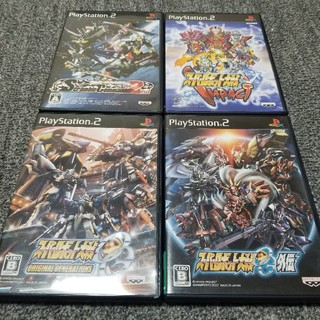 PlayStation2 - PS2  スーパーロボット大戦 4本セット