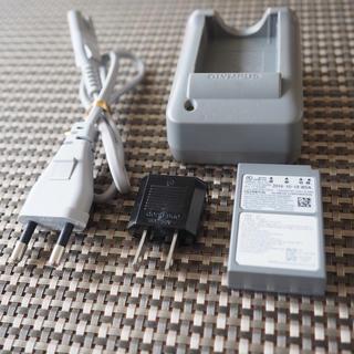 OLYMPUS - オリンパス リチウムイオン充電池 BLS-50 充電器 BCS-5 海外版セット