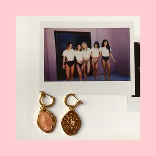 エイミーイストワール(eimy istoire)のMédaille hoop earrings 【フープピアス】(ピアス)