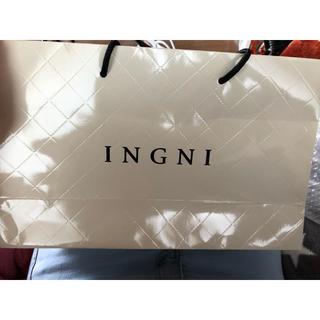 イング(INGNI)のINGNIショップ袋(ショップ袋)