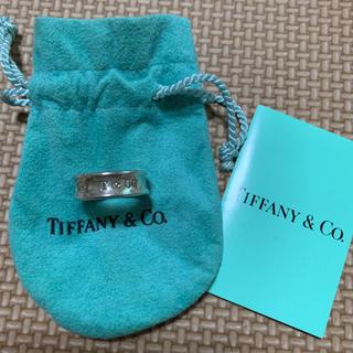 ティファニー(Tiffany & Co.)のTIFFANY & Co. ❤︎ 1837シルバーリング(リング(指輪))