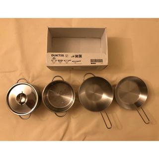 イケア(IKEA)のIKEA おもちゃ調理器具 5点セット 値下げ中(知育玩具)