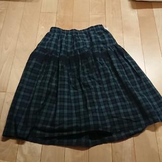 しまむら - 新品タグ付き☆しまむら購入☆ブラックウォッチスカート☆M