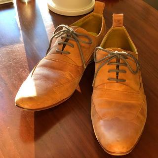 ビジネスシューズ 革靴 茶色 フォーマル(ドレス/ビジネス)
