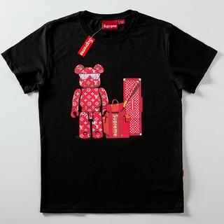 ルイヴィトン(LOUIS VUITTON)のLV     Tシャツ 半袖     Mサイズ (Tシャツ(半袖/袖なし))