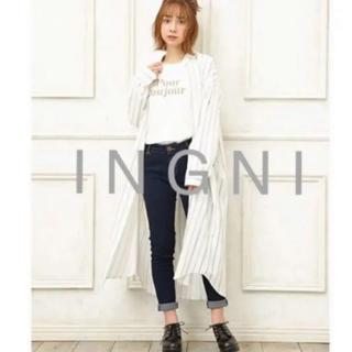 8975d3a1e402d イング(INGNI)の2019最新☆ I N G N Iイング☆ストライプロングBIGシャツ(