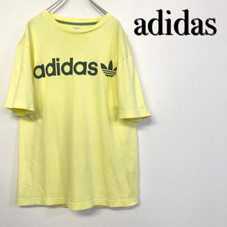 アディダス(adidas)の【美品 adidas ロゴTシャツ 】(Tシャツ/カットソー(半袖/袖なし))