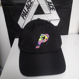 シュプリーム(Supreme)の新作 パレス キャップ 帽子 P ロゴ 黒 Black 即完売 (キャップ)