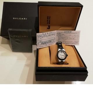 ブルガリ(BVLGARI)のBVLGARI腕時計正規品AL29TA美品(腕時計)