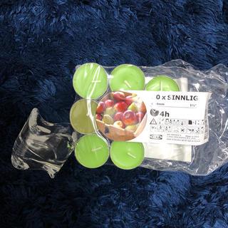 イケア(IKEA)のアロマキャンドル 14個入り(アロマ/キャンドル)