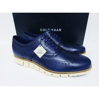 コールハーン(Cole Haan)のCOLE HAAN ZEROGRAND WING OX ネイビー 10 防水(ドレス/ビジネス)