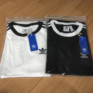 アディダス(adidas)のAdidasアディダスオリジナルス 男女兼用Tシャツ XLサイズ 2枚セット(Tシャツ(半袖/袖なし))
