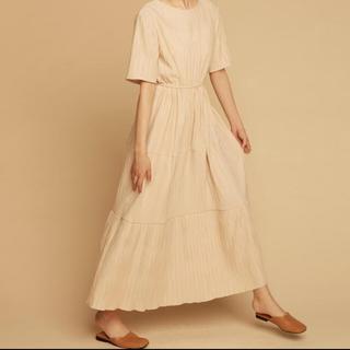 ザラ(ZARA)のrandeboo natural dress(ロングワンピース/マキシワンピース)